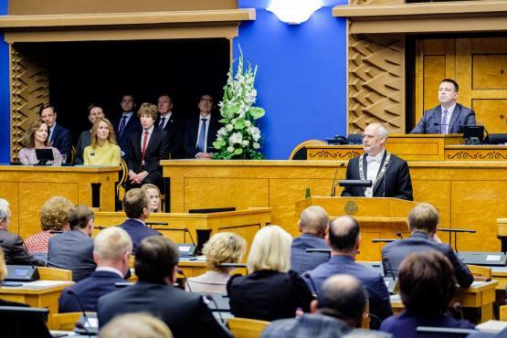 President Karis kõneleb Riigikogus